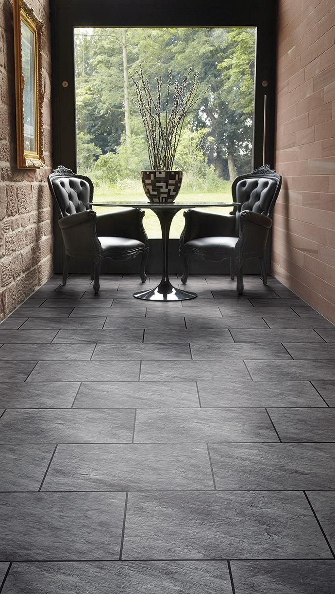 Amtico signature flooring newmarket bury st edmunds welsh slate slate noire stripping dailygadgetfo Choice Image