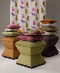 Charisma stools + Palme candy