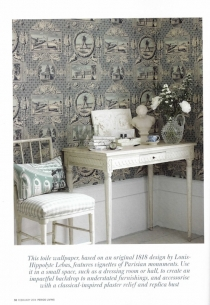 Period Living Feb 2014 - vues de paris wallpaper