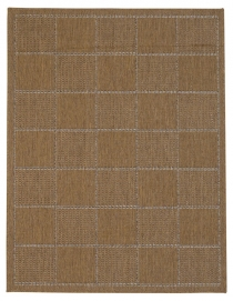 Checked Flatweave Natural